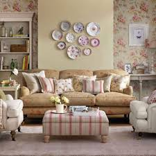 interior fascinating vintage style small living room great