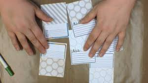 your own journaling cards by teri technique