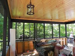 mcdougall cottage screened porch interior architectural drafting