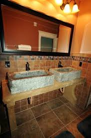 undermount trough bathroom sink with two faucets best faucets
