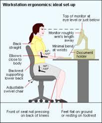 Standard Desk Height Us Ergonomic Desk Height Measurements Google Search Office