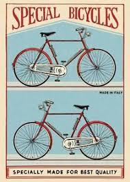cavallini poster special bicycles bike poster cavallini co 20 x 28 wrap ebay