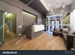 modern interior design lobby dental clinic stock photo 430827292
