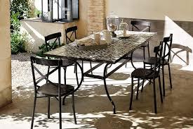 Maison Du Monde Table De Jardin by Une Table De Jardin En Carreaux De Ciment