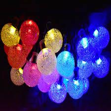 aliexpress com buy 30 led solar string lights outdoor crystal