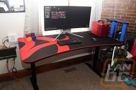 Gaming Desk Arozzi Arena Gaming Desk Lanoc Reviews
