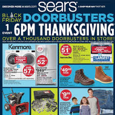 the black friday 2015 ad for sears has leaked blackfriday