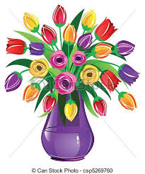 Flowers In Vases Images Bouquet Of Flowers In Vase Clip Art Clipart Collection