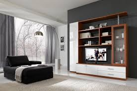fine living room sets including tv decoration with various stone