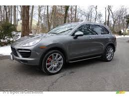 cayenne porsche 2012 2012 porsche cayenne turbo in meteor grey metallic a80121