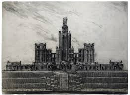 in drawings the historical trajectory of soviet architecture