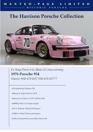 porsche 904 chassis porsche 934 chassis 930 670 0157 porsche cars history