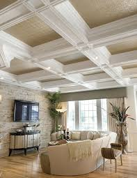What Is A Coffered Ceiling by Decorative Coffered Vaulted Tin Ceiling Tiles Ceiling Panels