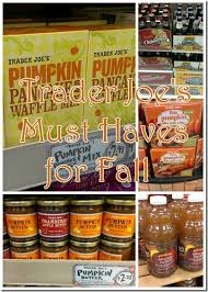 trader joes must haves for fall