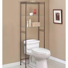 Small Bathroom Etagere Prodigious Over Toilet Shelving Bathroom Etageres In Over Toilet