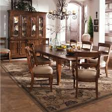 tuscan style tuscano 9 pc refectory leg table tuscandecor