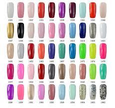 elite99 multi color gel nail polish uv led 8ml soak off manicure