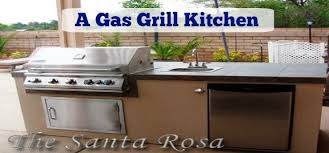 Backyard Gas Grill by Building A Gas Grill Kitchen In Your Backyard In San Diego