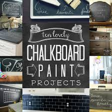 chalkboard paint ideas kitchen remodelaholic top ten chalkboard paint projects and link
