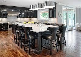 black kitchen island with seating kitchen island ideas black kitchen island with seating
