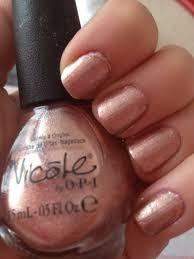 rose gold nail polish u003c3 nichole by opi u0027it starts with me u0027 hair
