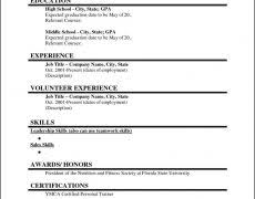 Resume For Recent College Graduate Template College Graduate Resume Sample 19 Template Templates And Builder