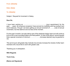 12 salary increases letter formats u0026 samples for word and pdf