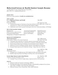 Sample Resume Objectives For Healthcare Administration by Health Educator Resume Sample Free Resume Example And Writing