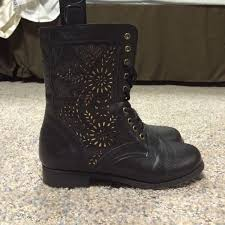 womens boots rue 21 37 rue21 boots combat boots from s closet on poshmark