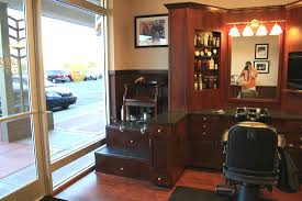 Salon Cabinets Barbershops And Salons Custom Wood Cabinets Cabinetry