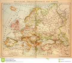 old political map of europe editorial stock image image 48788054