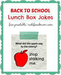 School Lunch Meme - back to school lunch box jokes printable
