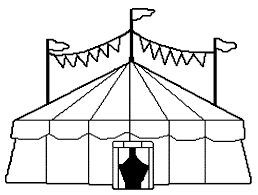 circus tent free coloring pages on art coloring pages