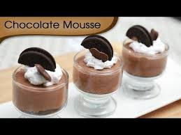 chocolate mousse easy to make chocolate recipe