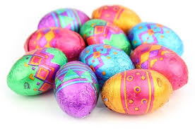 easter eggs patterned mini chocolate easter eggs chocolate trading co