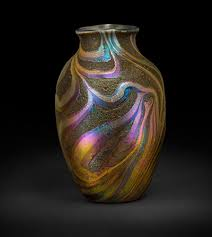 Tiffany Favrile Glass Vase Press Release Tiffany Favrile Glass Masterworks From The
