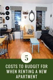 apartment how much does it cost to furnish an apartment decor