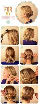 how to braid short hair step by step 14034 best short hair images on pinterest hairstyle ideas