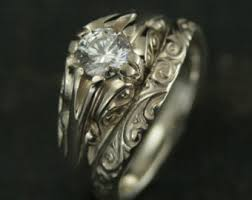 cleopatra wedding ring the cinderella bridal ring setsilver antique style
