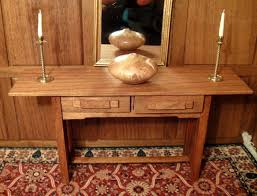 Ebay Console Table by Lars Mikkelsen Igma Artisan Mission Console Table Serving