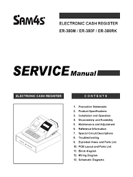 sam4s er 380 service manual electrostatic discharge electrical