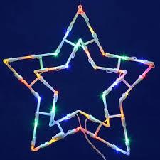 Solar Powered Christmas Window Decorations by Star Christmas Lights You U0027ll Love Wayfair