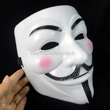 mask from halloween movie guy fawkes v vendetta team pink blood scar masquerade masks