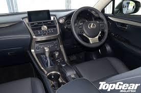 lexus car price list malaysia topgear malaysia lexus nx makes malaysian debut