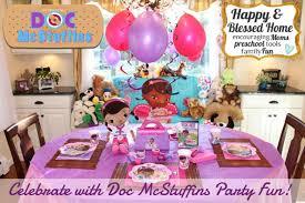 doc mcstuffins party doc mcstuffins slumber party and free printables
