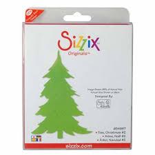sizzix originals die large tree 2