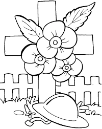 remembering the unknown soldiers coloring pages card craft