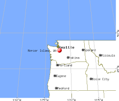 mercer map mercer island washington wa 98040 profile population maps