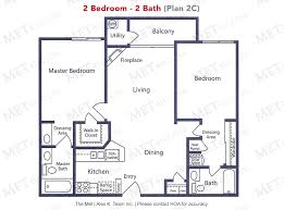 time warner center floor plan the met warner center 2 bedrooms condominiums for sale