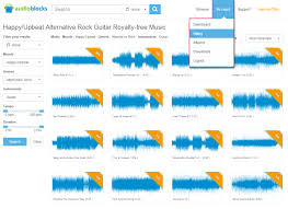 royalty free music library background music for video